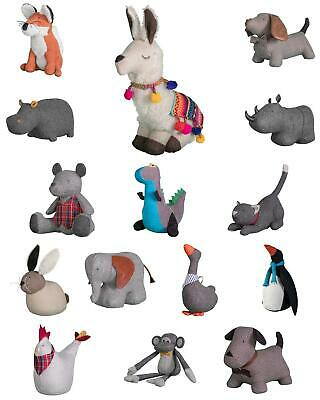 £17.21 • Buy Weighted Door Stop Stopper Filled Fabric  Wedge Animal Heavy Novelty New
