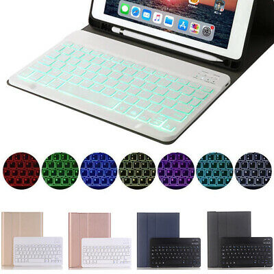 AU48.99 • Buy Bluetooth Keyboard Pen Holder Case For IPad 5th/6th 7th 10.2 2019 Mini 5 Air Pro