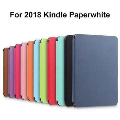 Ultra Slim PU Leather Smart Magnetic Cover Case For Amazon Kindle Paperwhite2018 • 6.95£