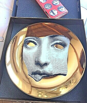 $269 • Buy Fornasetti T&V Plate 64 GOLD