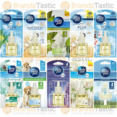 £14.99 • Buy 6 X AMBI PUR ELECTRICAL PLUG IN AIR FRESHENER REFILLS 20ML CHOOSE A SCENT