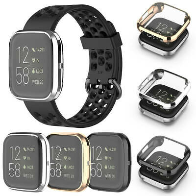 $ CDN12.05 • Buy Case For Fitbit Versa 2 Anti-scratch Full Protective Case Cover Screen Protector