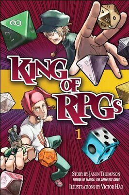 King Of RPGs, Volume 1 By Thompson, Jason Book The Fast Free Shipping • 7.38£