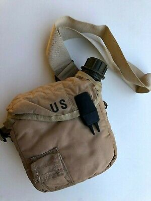 $ CDN45.16 • Buy 2 Quart Collapsible Bladder Water Canteen With Cover -US Army Military 2 QT 1993