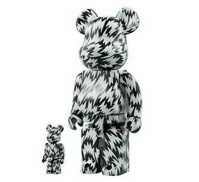 $299.99 • Buy BEARBRICK  400% & 100% Medicom Toy Japan ELEY KISHIMOTO 2008 (RARE AND UNOPENED)