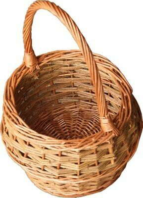 Red Hamper Small Rustic Egg Shopping Basket • 25.76£