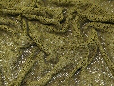 Crochet Lace Fabric - Sold Per Metre • 3.99£