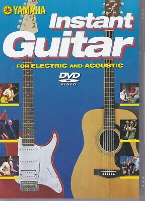 Instant Guitar - Electric & Acoustic DVD • 2£
