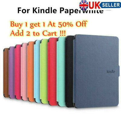 PU Leather Smart Magnetic Cover Case For Amazon 1/2/3 Cover Kindle Paperwhite • 7.74£