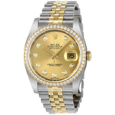 $ CDN23439.69 • Buy Rolex Oyster Perpetual Datejust 36 Stainless Steel And 18K Yellow 116243CDJ