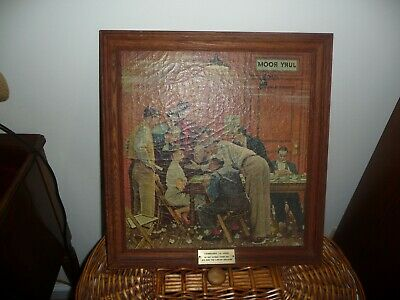 $ CDN260.51 • Buy Norman Rockwell On CANVAS  JURY ROOM    THE HOLDOUT  14 X 15