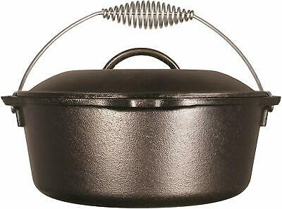 $ CDN80.54 • Buy Lodge Cast Iron - 5 Qt. Dutch Oven W/Bail Handle- Made In America - Item # L8DO3