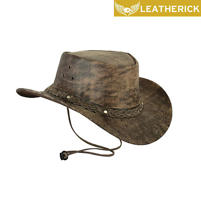 £17.99 • Buy Camouflage Cowboy Hat Western Aussie Style Leather Cowboy Hat Outback Bush Hat