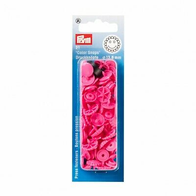 Prym Flower Plastic Press Fasteners - Pink • 3.09£