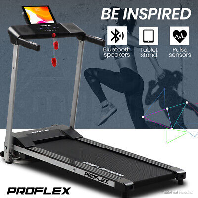 AU389 • Buy PROFLEX Treadmill Bluetooth Running Machine Foldable Compact Small Home Electric