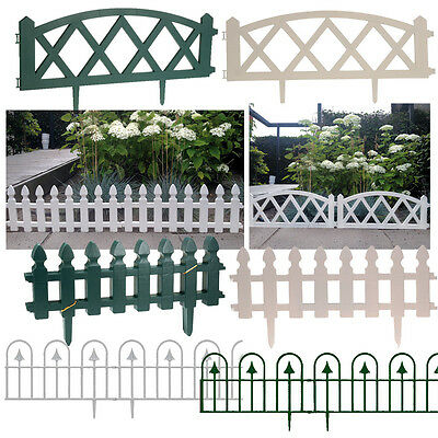 Garden Fence Fencing Edging Picket Grass Lawn Borders Panel Edge Landscape Path • 8.49£