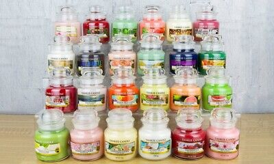 Yankee Candle Large 538 G Jar And Medium 340 G Jar Variety Scented Violable  • 14.25£