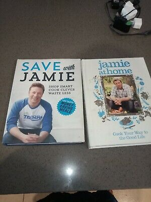 AU45 • Buy Jamie Oliver Cook Books Jamie At Home And Save With Jamie