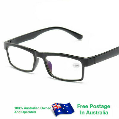 AU9.95 • Buy Magnifying Nerd Spectacle Vintage Reading Glasses +4.5 +5.0 +5.5 +6.0 W807