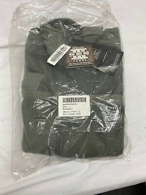 Military Fleece Jacket Foliage Green PolarTec Thermal Pro Level 3 New Size L/L • 29.99$