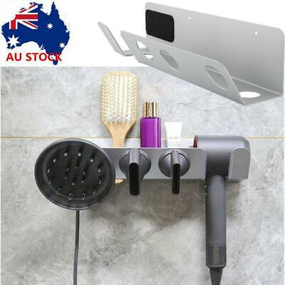 AU26.03 • Buy Hair Dryer Wall Mount Holder Aluminum Alloy Stand Bracket For Dyson Supersonic