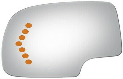 $15.89 • Buy Fits Driver Side Signal Mirror Glass For Avalanche, Tahoe, Suburban, Silverado