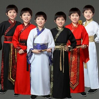 £16.32 • Buy Ancient Chinese Traditional Costume Boy Swordsman Knights Performance Children