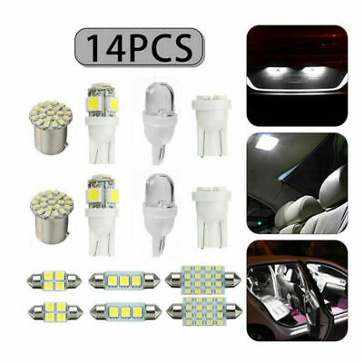 $6.49 • Buy 14x Auto Car Accessories Interior Package LED Mixed Light Map Dome License Plate