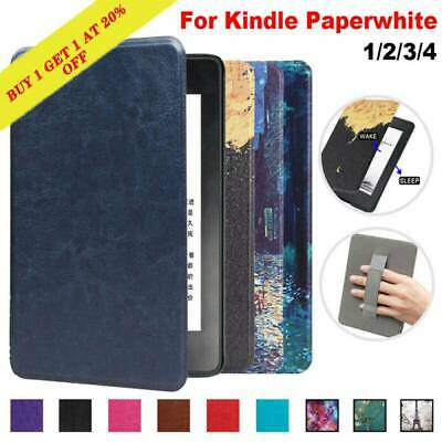 For Amazon Kindle Paperwhite 1 2 3 4  Slim Magnetic Leather Smart Case Cover Hot • 8.99£