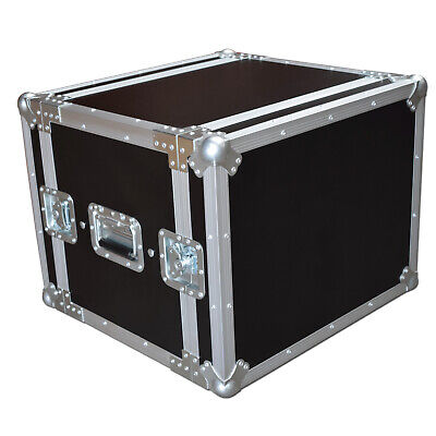 "Spider Pro 8u Sleeved Rack Case Flightcase 14"" Deep • 159.99£"