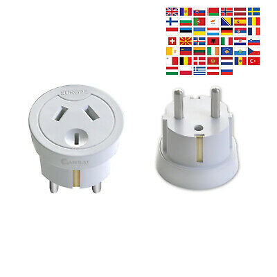 AU18.90 • Buy Sansai Travel Adaptor Australia/NZ To Europe