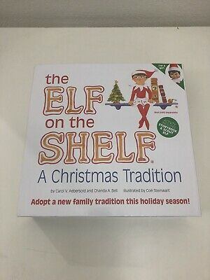 AU33.61 • Buy The Elf On The Shelf Girl A Christmas Tradition With Book By Bell & Aebersold