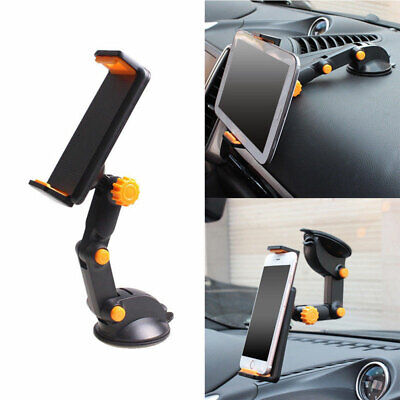 Car GPS Windshield Mount Holder For IPhone 7-11  IPad Mini/2/3/4/Air Tablet 360° • 11.09£
