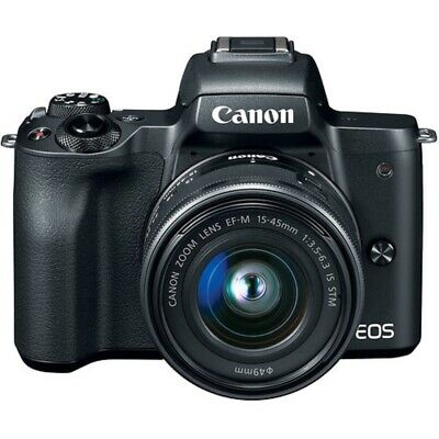 View Details Canon EOS M50 Mirrorless Digital Camera With 15-45mm Lens - Black • 452.90£