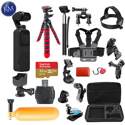 $379 • Buy DJI Osmo Pocket Gimbal With 38-in-1 Action Bundle