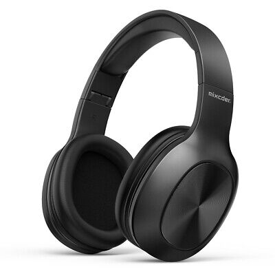 AU34.50 • Buy Mixcder HD901 Lightweight Wireless Hi-Fi Stereo Bluetooth Over Ear Headphones Wi