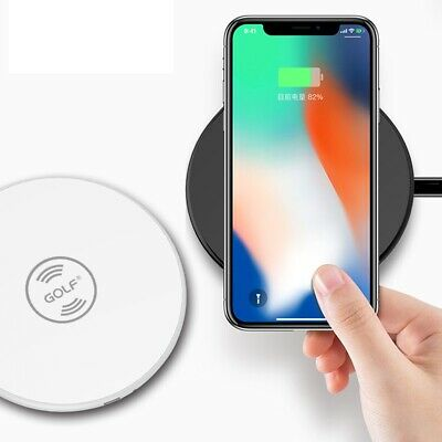 AU8.95 • Buy Qi Wireless Charger Pad 1A 5W Golf WQ3 For Mobile Phone Iphone