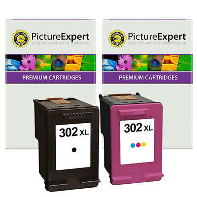 302XL Remanufactured Black & Colour Ink Cartridge Pack For HP Envy 4527 • 22.90£
