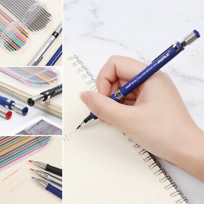 Automatic Writing Tool Drawing Mechanical Pencil Lead Refill Activity Pencils • 2.38£