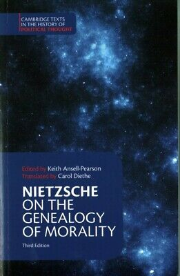 On The Genealogy Of Morality And Other Writings, Paperback By Nietzsche, Frie... • 20.07£