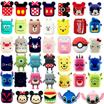 $ CDN4.21 • Buy Earphone Protective Case For Apple Airpods Covers Skins Cute 3D Cartoon Silicone