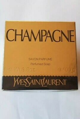 Champagne Perfumed Soap 100g By YSL Rare • 59.99£