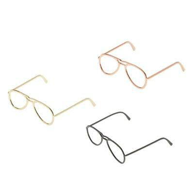 $8.61 • Buy 1/6 Scale Oblate Glasses Frame For 12'' Male & Female TTL Enterbay