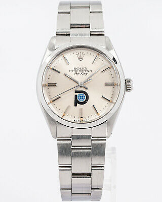 $ CDN3832.69 • Buy Vintage 1986 Rolex Oyster Perpetual Air-King Ref. 5500 W/ Pool Intairdrill Dial!