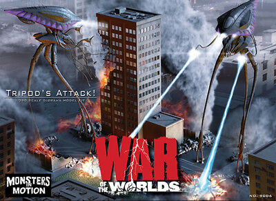 PEGASUS War Of The Worlds 2005 Tripods 1/350 Scale Diorama Model Kit 18WPH08 • 33.13£