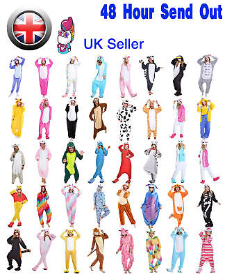 Unisex Adult Animal Onsie88Onesie12 Anime Cosplay Pyjama Kigurumi Fancy UK Dress • 19.99£