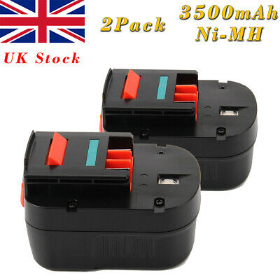 2X 3.0AH 12V Ni-MH Battery For Black Decker A1712 A12 A12-XJ FS120B FSB12 HPB12 • 35.90£