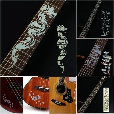 Cross Inlay Decals Fretboard Sticker For Electric Acoustic Guitar Thin Sticker • 3.33£