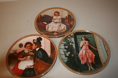 $ CDN37.60 • Buy  Rediscovered Women  Collection, Norman Rockwell, Knowles Collector Plates.