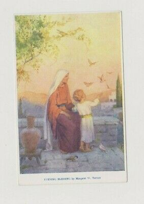 Old Postcard Artist Signed Margaret Tarrant Evening Blessing Religious F180 • 2.69£